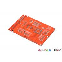Buy cheap Base Material FR 4 Industrial PCB Layout Prototype With Red Solder Mask from wholesalers