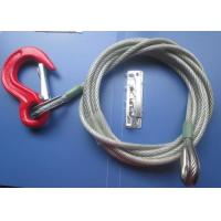 Buy cheap Portable 9.5mm Coated Galvanized Steel Heavy Sling Wire Rope For Cargo Boat from wholesalers