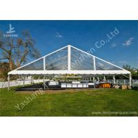 Buy cheap Clear PVC Fabric Top Aluminum Alloy Outdoor Luxury Wedding Tents from Wholesalers