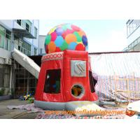 Buy cheap Inflatable  Dome Air Bouncer The Most Popular Candy Machine Bouncer from wholesalers