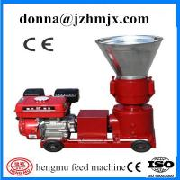 Buy cheap Long working life and high efficiency wood flat die pellet machinery from wholesalers