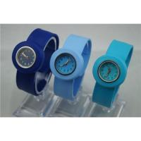 Buy cheap hot salehigh quality silicon slap band, quartz movement, cheap children's colored slap watch from Wholesalers
