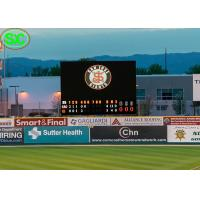 Quality P10 Football Stadium LED Advertising Display Billboards WIFI Control for sale