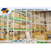 Quality Hospital Heavy Duty Mobile Racking System , Teardrop Pallet Racking Systems For Office wholesale