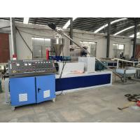 Buy cheap Single Screw Pvc Plastic Granules Making Machine With One Year Warranty from wholesalers
