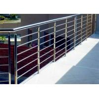 Buy cheap Decking metal balustrade 316 stainless steel rod railing design from wholesalers