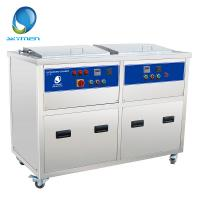 Buy cheap Double Tank Industrial Ultrasonic Cleaner , Automotive Ultrasonic Cleaner 28khz or 40khz from wholesalers