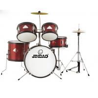Buy cheap Jinbao musical instrument Red color 5-pc Junior Drum set from wholesalers