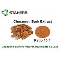 Buy cheap Brown Color Herbal Extract Ratios , Cinnamon Bark Extract Powder For Food from wholesalers