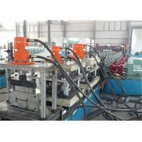 Buy cheap Ladder Cover Metal Stud Roll Forming Machine 1.2-2.0mm Thickness Gear Speed from Wholesalers