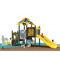 Buy cheap Space Theme Preschool Playground Equipment Anti - Fade Outdoor Fun For Kindergarten Use from Wholesalers