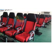 Buy cheap Attractive 4D Cinema System with Pneumatic / Hydraulic / Electric Motion Chairs from Wholesalers