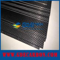 Buy cheap customized CNC carbon fiber sheet 3k woven from Wholesalers