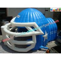 Buy cheap Sports Customized Inflatable Party Tent , Inflatable Helmet Football Tunnel from Wholesalers