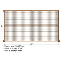 """Buy cheap """"VICORIA SECRET"""" TEMPORARY FENCE H6'/1830mmxL10'/3050mm mesh Aperture 2""""x4""""/50x100mm from wholesalers"""