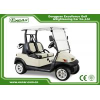 ISO Approved Electric Golf Carts 2 Seater Golf Cart 275A Curtis Controller