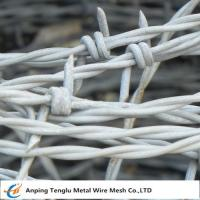 Buy cheap Barbed Wire| Made by Stainless Steel Wire Single and Double Ttwist Barb Wire from wholesalers