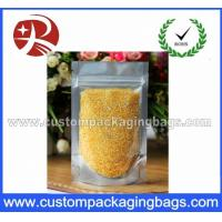 Buy cheap Recyclable Plastic Ziplock Bags Clear Foil Stand Up For Food Packaging from wholesalers