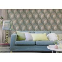Buy cheap Northern Europe Style Embossed Surface Regular Pattern Wallpaper  For Sofa Background from wholesalers