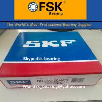 Buy cheap Double Row Cylindrical Roller Bearing SKF NU319 ECM Brass Cage from Wholesalers