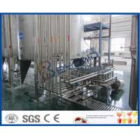 Buy cheap PLC Control High Standard Fruit Juice Processing Line / Fruit Juice Manufacturing Plant from wholesalers