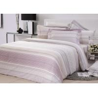 Buy cheap High Yarn Count Elegant Bed Set Floral Twill Cotton With Frilled Pillowcase from Wholesalers