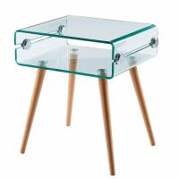 Buy cheap KLD chinese fancy glass small coffee side tables from wholesalers