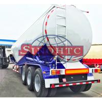 Buy cheap 55 000 Liters Bulk Cement  Tank Semi Trailer Three Axles Leaf Spring Suspension from Wholesalers