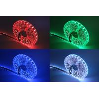 Buy cheap DC 12V LED Strip Light SMD 5050 , RGB Flexible LED Strip Outdoor Decoration from wholesalers