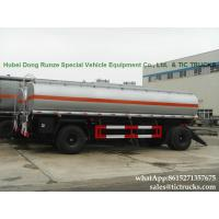 Buy cheap Manufactures high quality fuel tankers Pup Trailer  25000L Fuel Tank Full Trailer for sale WhatsApp:8615271357675 from Wholesalers
