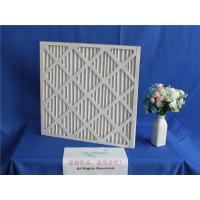 Buy cheap 10μm Carboard Frame Metal Mesh Air Filters 2400m³/h For Pharmaceutical from wholesalers