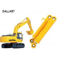 Buy cheap Heavy Duty High Pressure Hydraulic Cylinder Dual Stage For Industrial Crane Excavator from Wholesalers