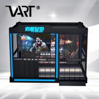 China Gun Shooting VR Theme Park / 9D Virtual Alliance Adults Zombie FIghting Games on sale