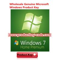 Buy cheap Verified Online Windows 7 Product Key Codes, Windows 7 Home Premium SP1 OEM Download ESD version from Wholesalers