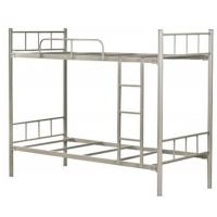 China Kids Double Deck Bunk Bed Bedroom Sets , Custom metal full size loft bed on sale