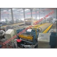 Buy cheap Professional Aluminum Coil Roof Tile Roll Forming Machine 3.5m/min from wholesalers
