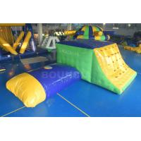 Buy cheap 0.9mm Durable PVC Tarpaulin Inflatable Jumping Platform With Blob from wholesalers