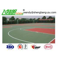 Buy cheap Acrylic acid Sport Court Surface Polyurethane Floor Paint Outdoor Basketball Court from Wholesalers