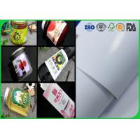 Buy cheap 914mm Coated Couche Paper 80gsm 90gsm Size Custom Adhesive Label For Stickers from Wholesalers