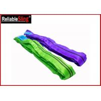 Buy cheap Tested Endless Polyester Web Sling For Pipe Lifting Safety Factor 7-1 Heavy Duty Slings from wholesalers