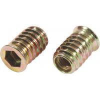 Buy cheap Carbon Steel Flat Head M8 Insert Nut , 5mm Threaded Insert Fine Thread Iron Material from Wholesalers