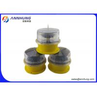 Quality Runway Edge Lighting / Solar Powered Runway Lights Recyclable Batteries wholesale