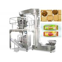 Buy cheap Vertical Food Packing Machine For Biscuit / Chips Full Automatic Control from Wholesalers