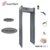 Buy cheap LCD Display Door Frame Metal Detector 18 Zone Low Consume For Security from wholesalers