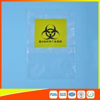 Buy cheap Reclosable Clear Ziplock Lab Guard Specimen Bag With Three Layer from Wholesalers