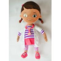 Cheap Personalized Disney Plush Toys Doc McStuffins Cartoon Stuffed for Girls for sale