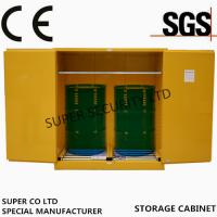 Hazardous Flammable Storage Cabinet in  labs, minel, stock, chemical company stock, workshop