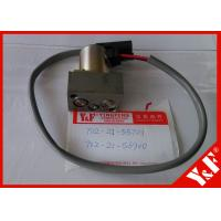 Buy cheap 702-21-55701 Komatsu Excavator Parts PC200 - 7 Hydraulic Main Pump Solenoid Valve from Wholesalers