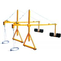 Buy cheap 1.3 - 1.7 Suspended Platform Parts Metres Suspension Mechanism Parapet Clamp from Wholesalers