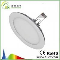 Cheap IP65 Waterproof Full Spectrum LED Grow Lights Silver Surface Finish , 8MM Thickness for sale